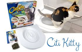 Кошачий туалет на унитаз Citi Kitty